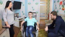 Инвалидная коляска в дар от кумира