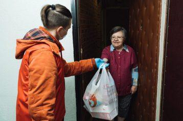 Акция помощи пожилым людям на время самоизоляции