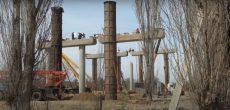Текущая стадия строительства третьего моста