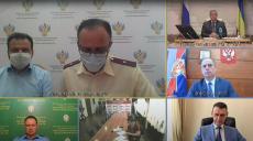 Заседание регионального штаба по предупреждению завоза COVID-19