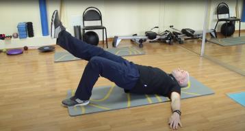 Лечебная гимнастика для профилактики тазовых болей