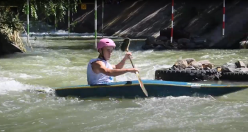 Соревнования по гребному слалому