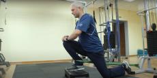 Лечебная гимнастика для профилактики травм голеностопного сустава