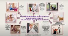 Рубрика «Совет врача». Детский травматизм