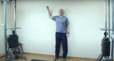 Лечебная гимнастика для профилактики синдрома замороженного плеча