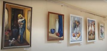 Художественная выставка Оксаны Зиновьевой