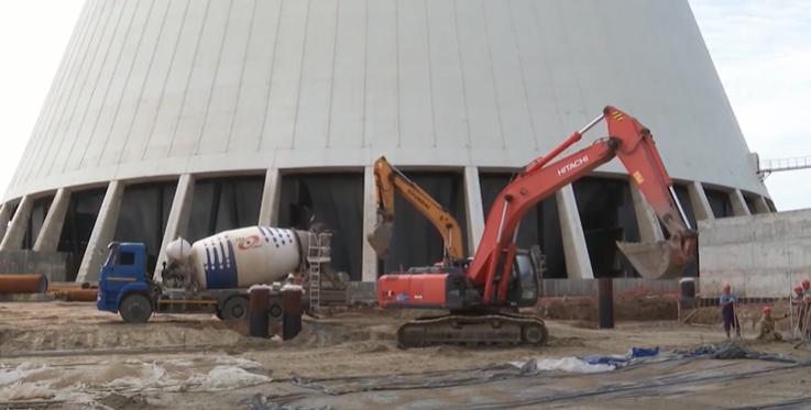 Строительство вентиляторной градирне на АЭС