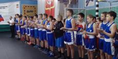 Церемония открытия первенства по боксу