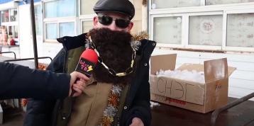 Беседа с Дедом Морозом на тему глобального потепления
