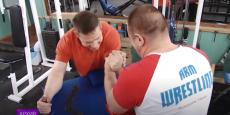 Волгодонец занял призовое место в чемпионате России по армреслингу