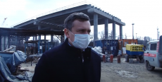 Строительство моста через Сухо-Солёновскую балку
