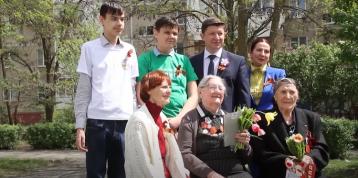 Поздравления для ветерана от Сергея Ладанова
