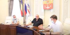 Заседание депутатской комиссии по строительству