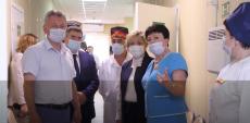 Открытие рентгенодиагностики в онкологическом диспансере