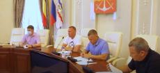 Заседание депутатской комиссии городской Думы