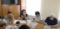 Заседание координационного совета общественной палаты