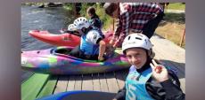Победа волгодонской спортсменки в соревнованиях по экстрим-слалому