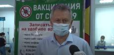 Объезд пунктов вакцинации главой Администрации города