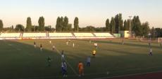 Соревнования по футболу на стадионе «Труд»