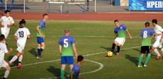 Футбольный матч между ФК «Волгодонск» и  «Луч»