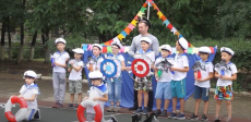 Спортивное мероприятие для детей в честь Дня ВМФ