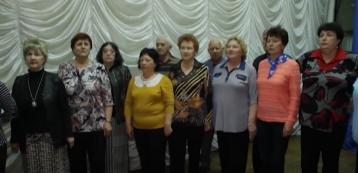 Концерт хора ветеранов АЭС «Энергия +»